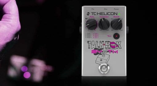 TC-Helicon TalkBox Synth pedal