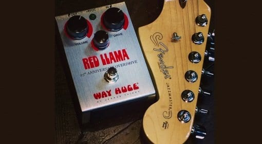 Way Huge Red Llama 25th Anniversary limited edition pedal