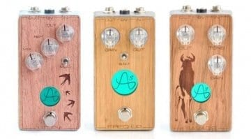 Anasounds boutique effects pedals handmade in France