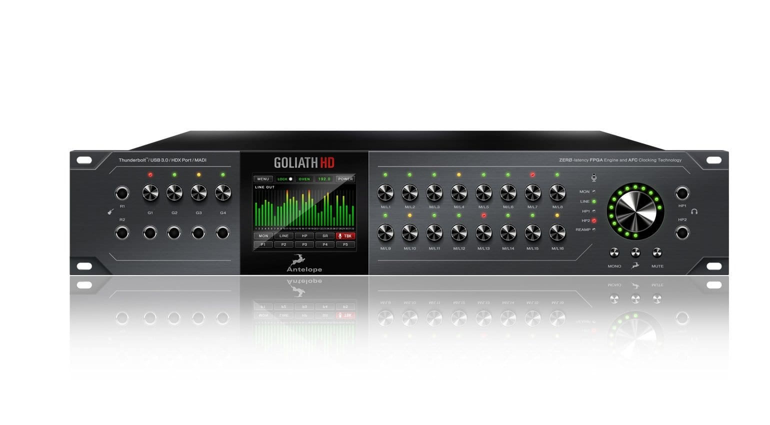 Top 5 audio interfaces by Focusrite, Roland, UAD, Presonus, Antelope
