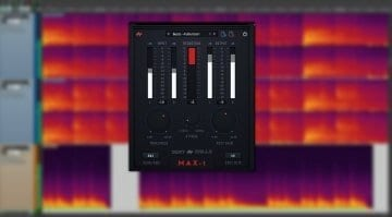 Beatskillz MAX-1 compressor – user interface