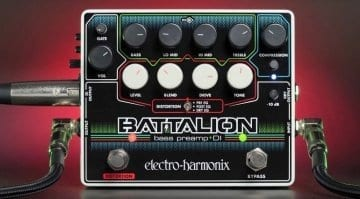 Electro-Harmonix Battalion Bass Preamp and DI