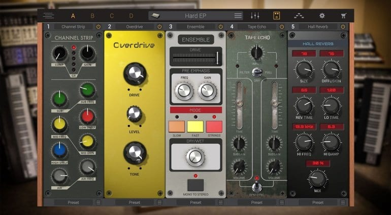 IK Multimedia Syntronik effects