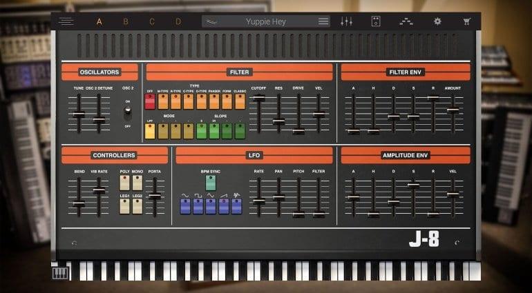IK Multimedia Syntronik Roland Jupiter