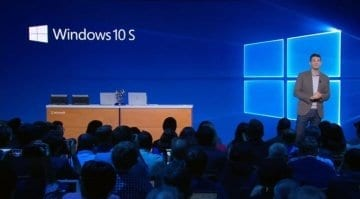 Microsoft Windows 10 S being announced