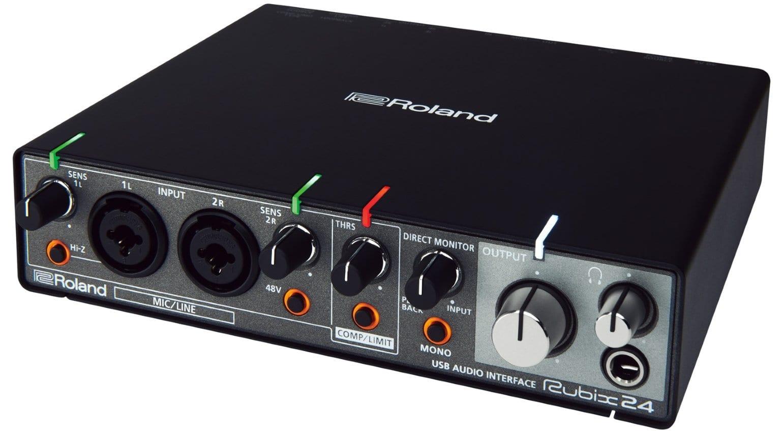 Top 5 audio interfaces by Focusrite, Roland, UAD, Presonus