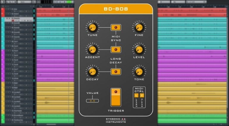 Synsonic BD-808 free plug-in
