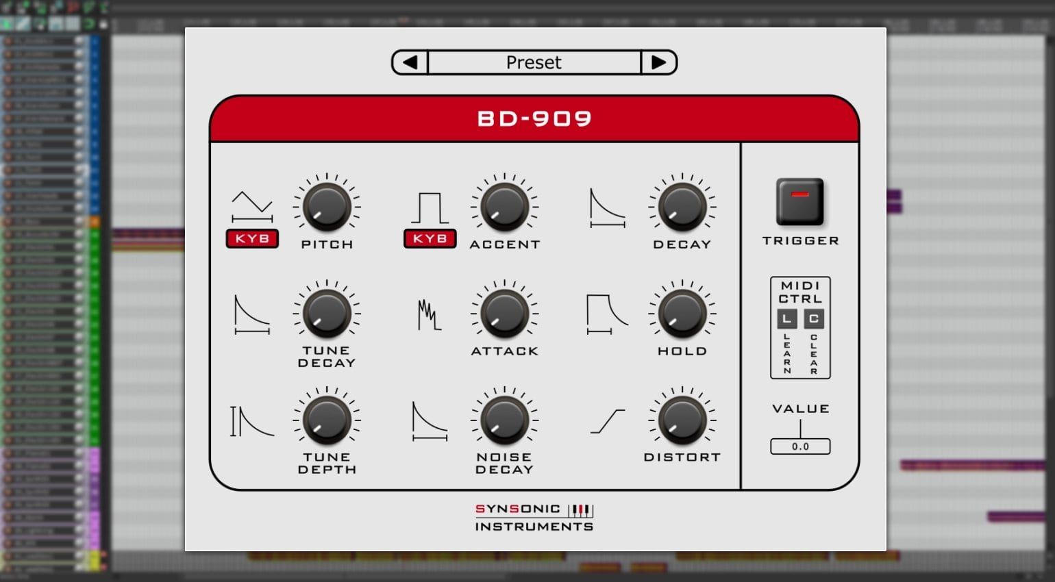 Synsonic's free BD-808 and BD-909 plug-ins give you some kicks