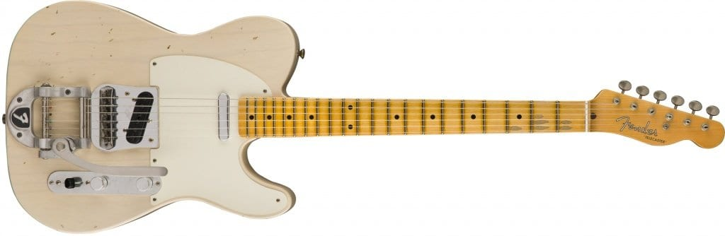 2017 Limited Edition Twisted Tele Journeyman Relic in blonde