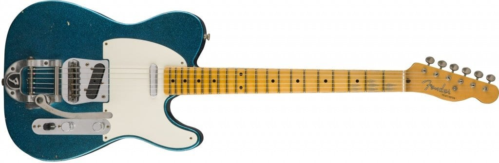 2017 Limited Edition Twisted Tele Journeyman Relic Blue Sparkle