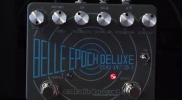 Catalinbread Belle Epoch Deluxe delay pedal