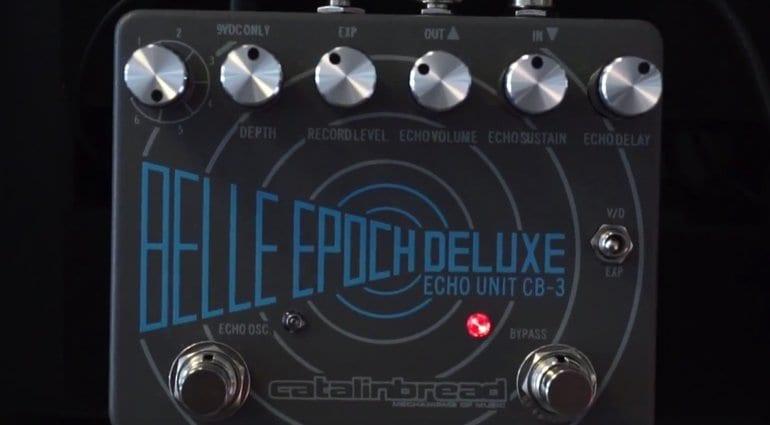 Catalinbread Belle Epoch Deluxe delay pedal