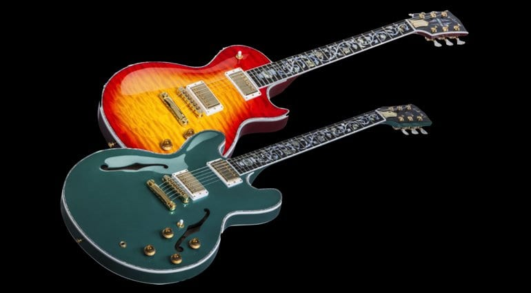 Gibson Custom Shop Ultima ES-335 and Les Paul