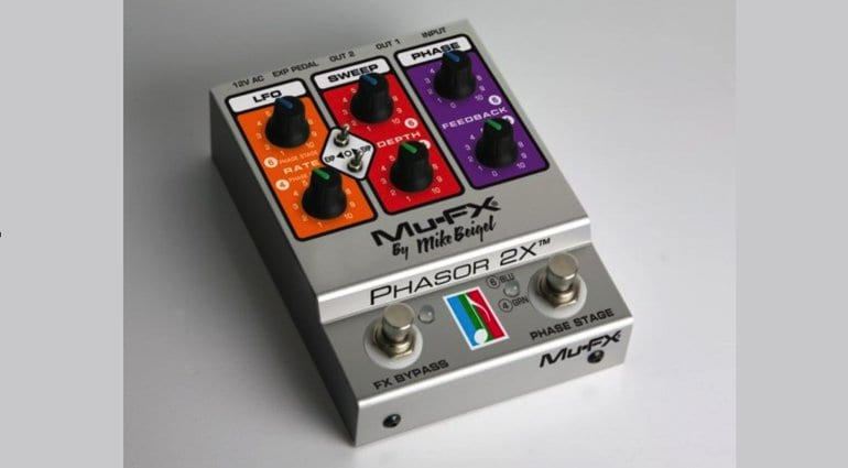 Mu-FX Phasor 2X Multi stage phaser reissue