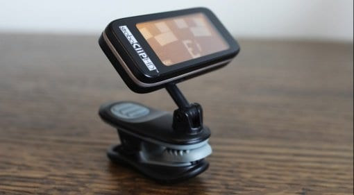 Peterson StroboClip HD clip on tuner