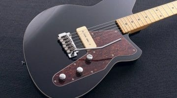 Midnight Black Reverend Matt West Signature model in black