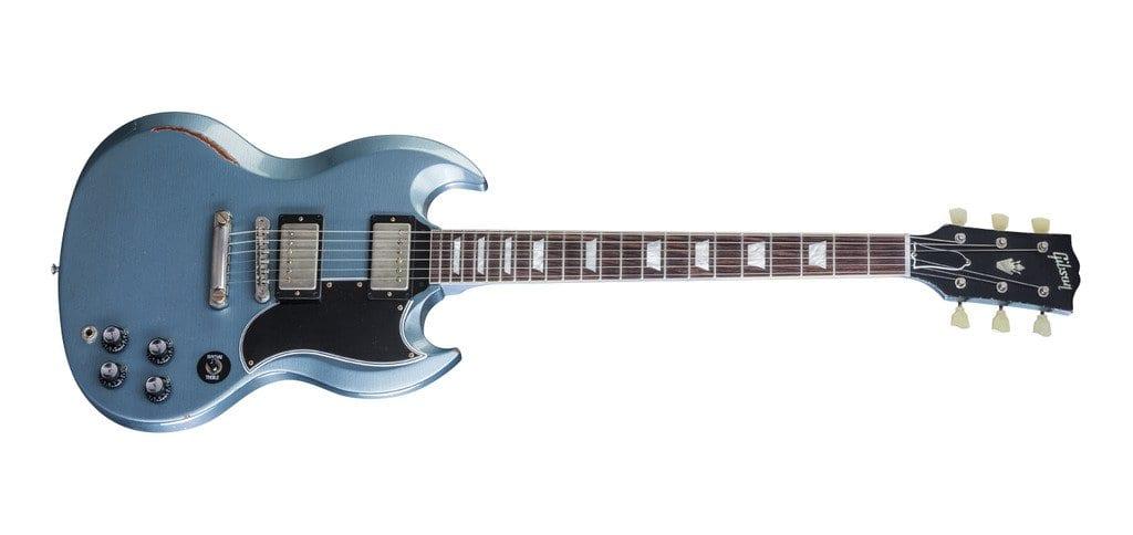 Gibson Heavy Aged SG Standard in Pelham Blue