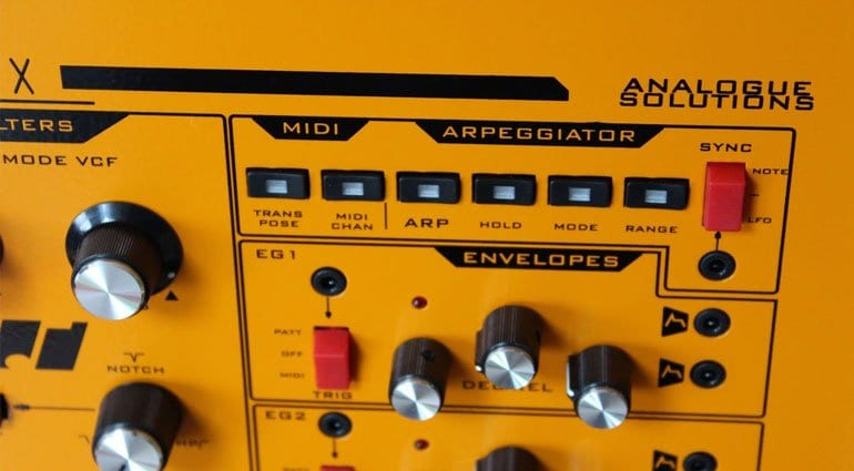 Analogue Solutions Fusebox arpeggiator