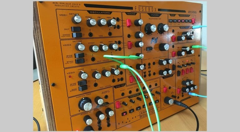 Analogue Solutions Fusebox patched up