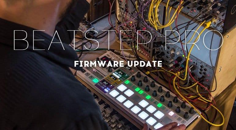 Arturia BeatStep Pro update