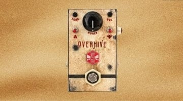 Beetronics OverHive drive pedal