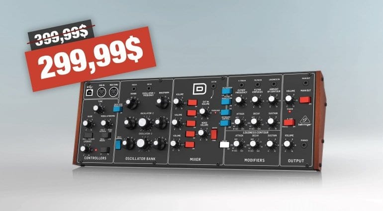 Behringer D price drop
