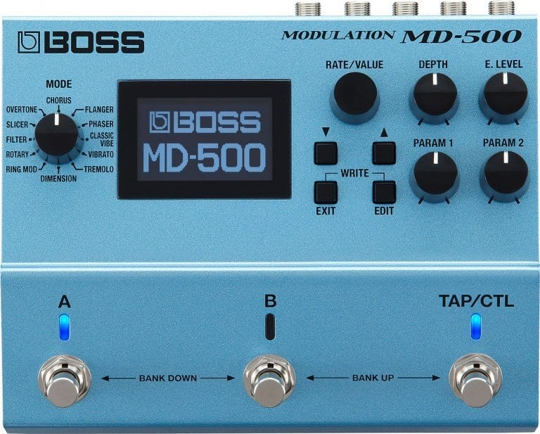 BOSS MD-500 modulation multi effect
