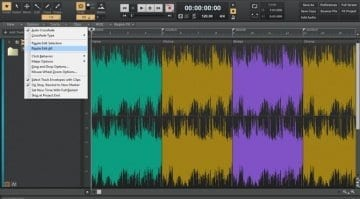 Cakewalk Sonar Ripple editing