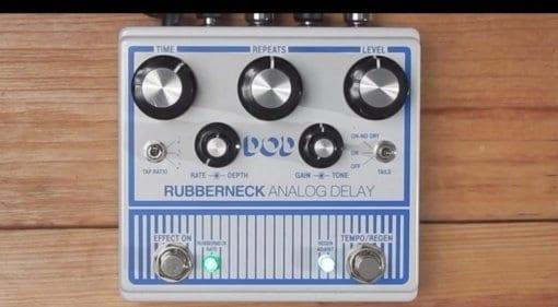 DOD Rubberneck Analog Delay white