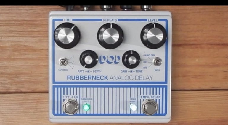 DOD Rubberneck Analog Delay white