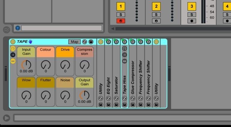 ELPHNT Ableton Live Rack Analog Tape eumlation