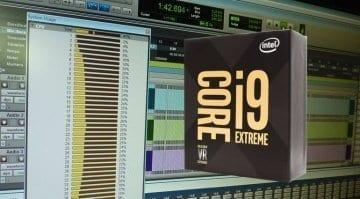 Intel Core i9 Pro Tools performance