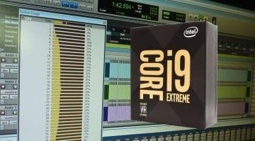 Intel Core i9 Pro Tools performance