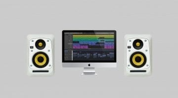 KRK V-Series 4 White Noise