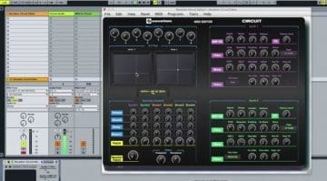 Momo Circuit MIDI Editor