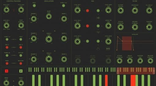 Mood iPad synth