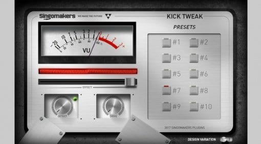Singomakers Kick Tweak plug-in