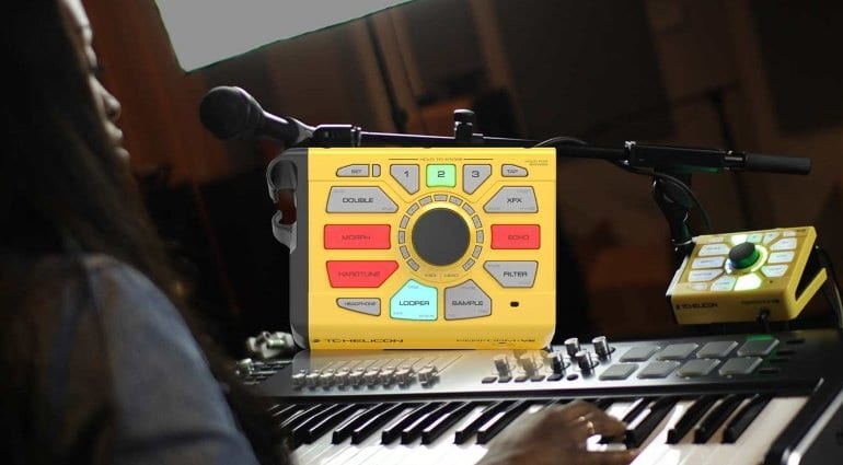 New TC-Helicon Perform VE Vocal Effects Processor Unit!