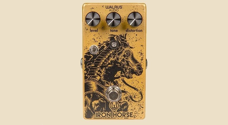 Walrus Audio Iron Horse V2 LM308 Distortion pedal