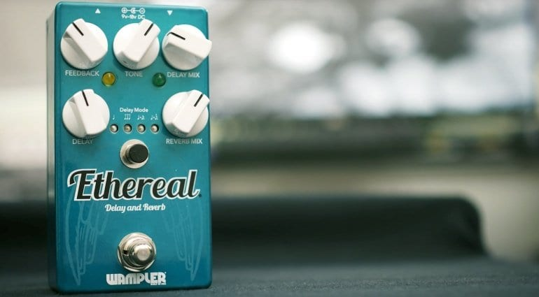 Wampler Ethereal - Reverb and Delay pedal