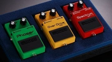 Boss reissues OD-1 Overdrive, PH-1 Phaser and SP-1 Spectrum pedals for 40th anniversaryBoss reissues OD-1 Overdrive, PH-1 Phaser and SP-1 Spectrum pedals for 40th anniversary