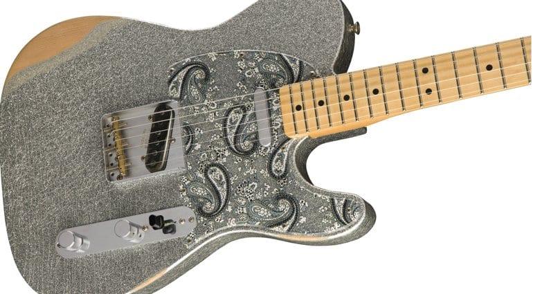 Fender Brad Paisley Road Worn Telecaster guitar
