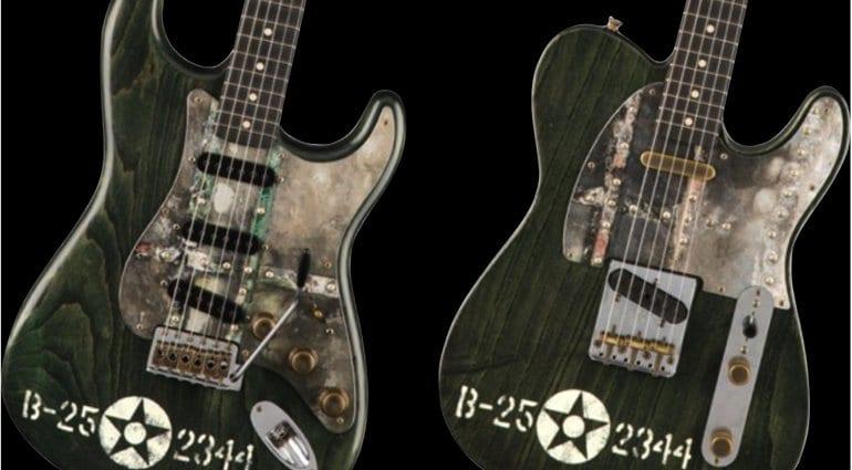 Fender Custom Shop Pacific Battle Strat and Tele