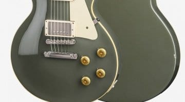 Gibson Les Paul Standard Oxford Gray chipped back