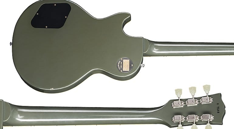 Gibson Les Paul Standard Oxford Gray damaged