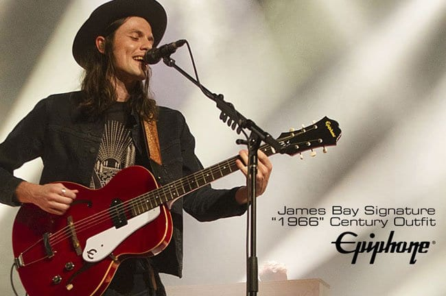 Epiphone James Bay '1966' Century signature guitar