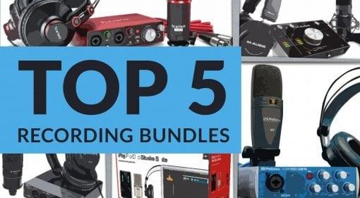 Top 5 Starter Recording Bundles teaser