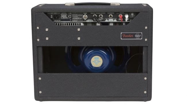 Fender '68 Custom Princeton Reverb Black & Blue FSR