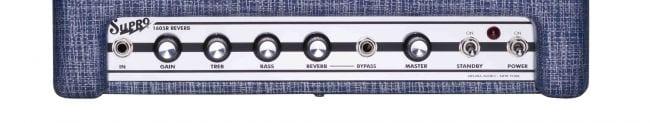Supro Reverb 1605R 5 watt control panel