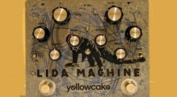 Yellowcake Lida Machine VCF pedal for guitar